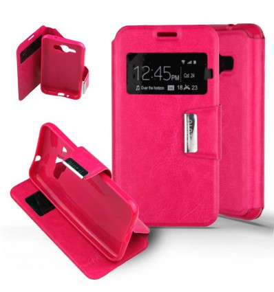 Etui Folio Samsung Galaxy J1 (2016) - Rose