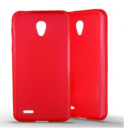Coque silicone Alcatel One Touch Go Play - Rouge