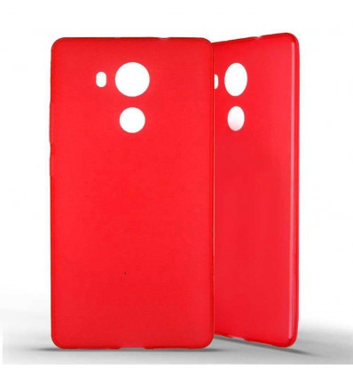 Coque silicone Huawei Mate 8 - Rouge