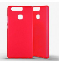 Coque silicone Huawei P9 - Rouge