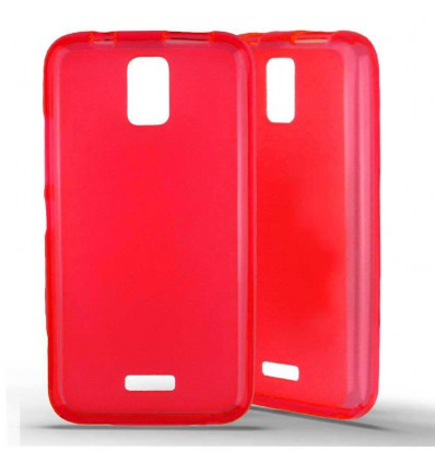 Coque silicone Huawei Y3 - Rouge