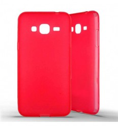 Coque silicone Samsung Galaxy J3 (2016) - Rouge