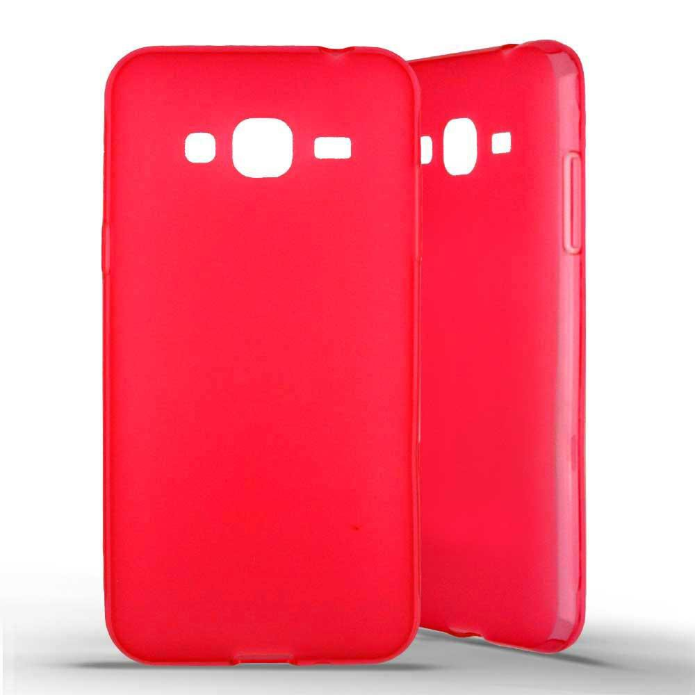 Coque silicone Samsung Galaxy J3 (2016) - Rouge