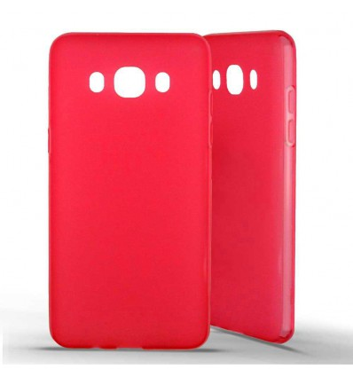 Coque silicone Samsung Galaxy J5 2016 - Rouge