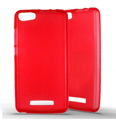 Coque Silicone Wiko Lenny 2 - Rouge