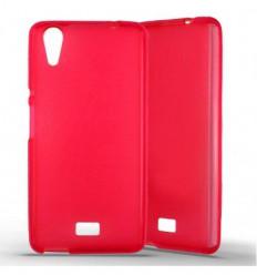 Coque silicone Wiko Rainbow Lite - Rouge