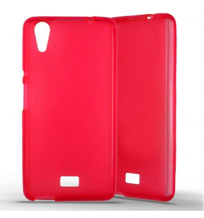 Coque silicone Wiko Rainbow Lite - Rouge