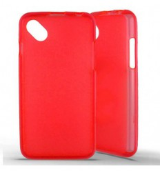 Coque silicone Wiko Sunset 2 - Rouge