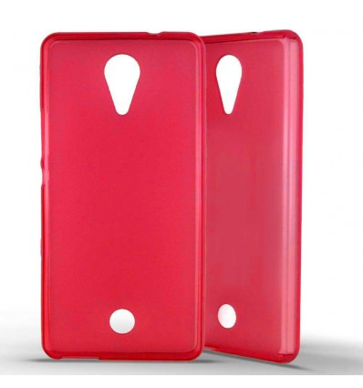 Coque Silicone Wiko Tommy - Rouge