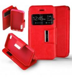 Etui Folio Apple iPhone 5 / 5S - Rouge