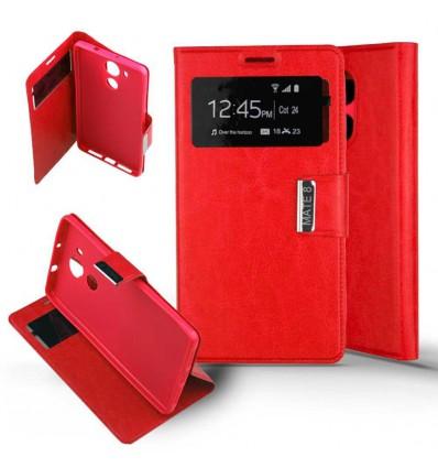 Etui Folio Huawei Mate 8 - Rouge
