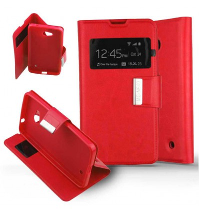Etui Folio Nokia Lumia 640 - Rouge