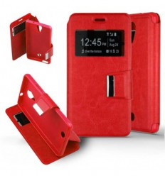 Etui Folio Wiko Tommy - Rouge