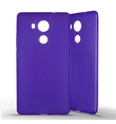 Coque silicone Huawei Mate 8 - Violet