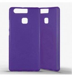 Coque silicone Huawei P9 - Violet