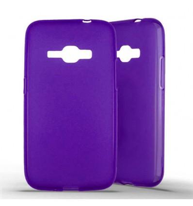 Coque silicone Samsung Galaxy J1 (2016) - Violet