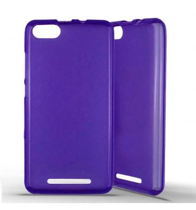 Coque silicone Wiko Lenny 3 - Violet