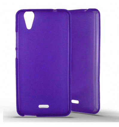Coque silicone Wiko Rainbow Jam 4G - Violet