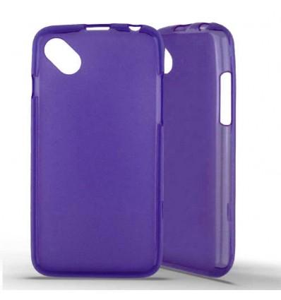 Coque silicone Wiko Sunny - Violet