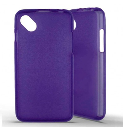 Coque silicone Wiko Sunset 2 - Violet
