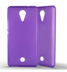 Coque Silicone Wiko Tommy - Violet