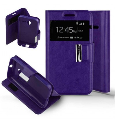 Etui Folio Alcatel One Touch Pixi 3 (4.0) - Violet