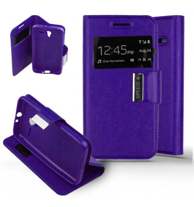 Etui Folio Alcatel One Touch Pixi 3 (4.5) - Violet