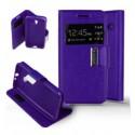 Etui Folio Alcatel One Touch Pixi 3 (4.5) - Violet