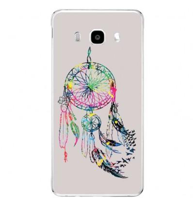 Coque en silicone Samsung Galaxy J3 2016 - Dreamcatcher Gris