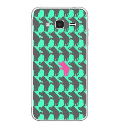 Coque en silicone Samsung Galaxy J3 2016 - Elephant