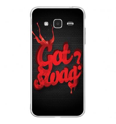 Coque en silicone Samsung Galaxy J3(2016) - Emo Swag
