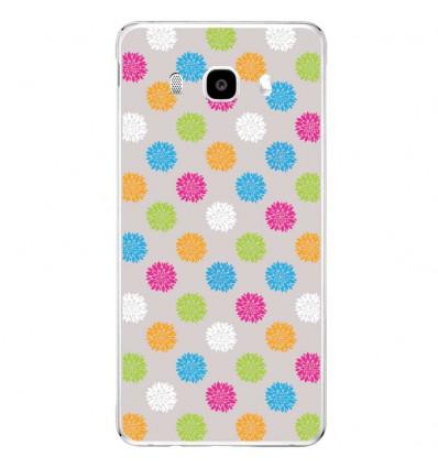 Coque en silicone Samsung Galaxy J3 2016 - Floral