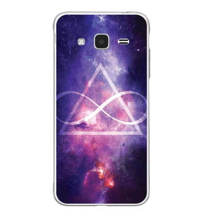 Coque en silicone Samsung Galaxy J3 2016 - Infinite Triangle