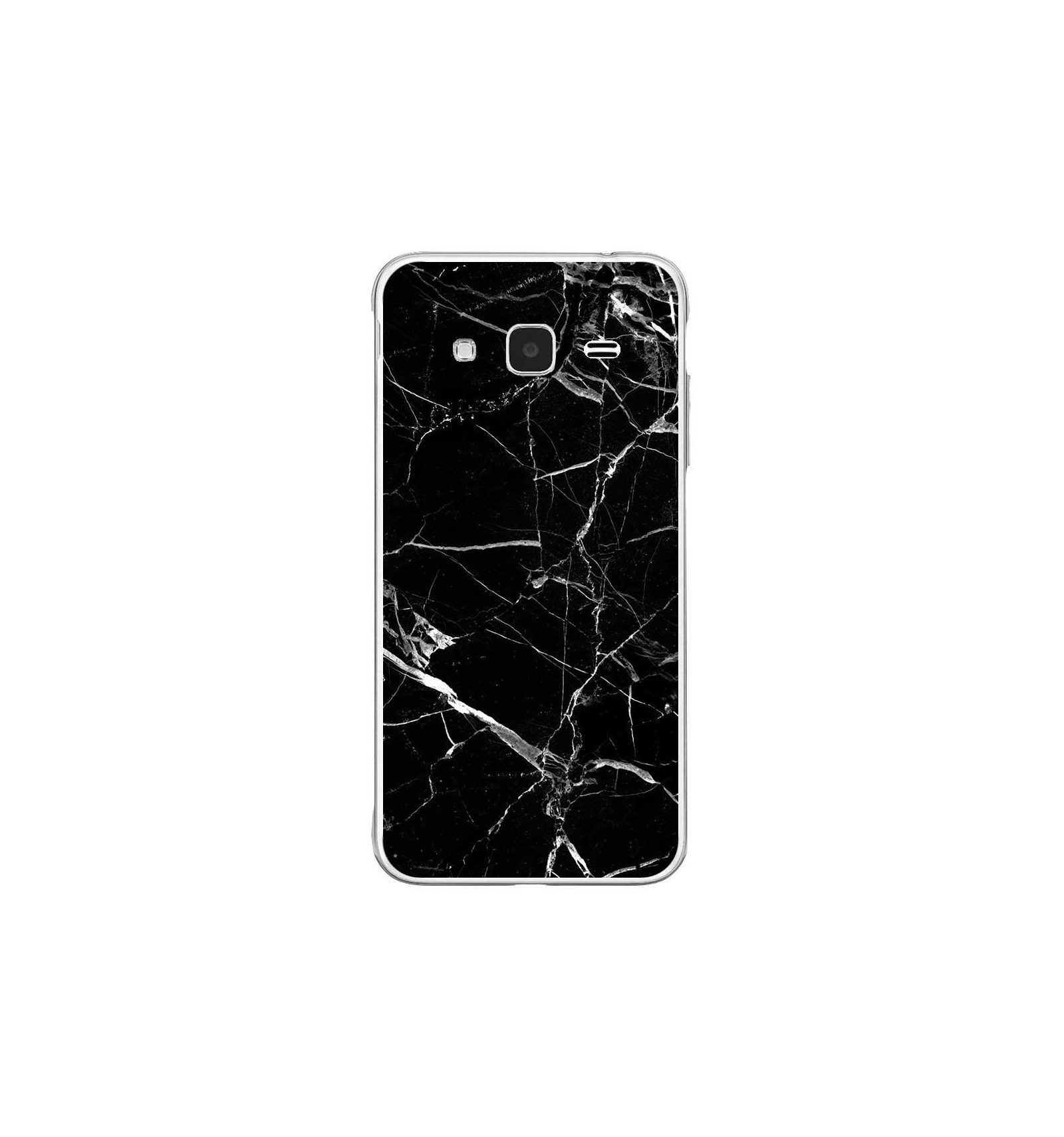 coque samsung j3 2016 marbre noir