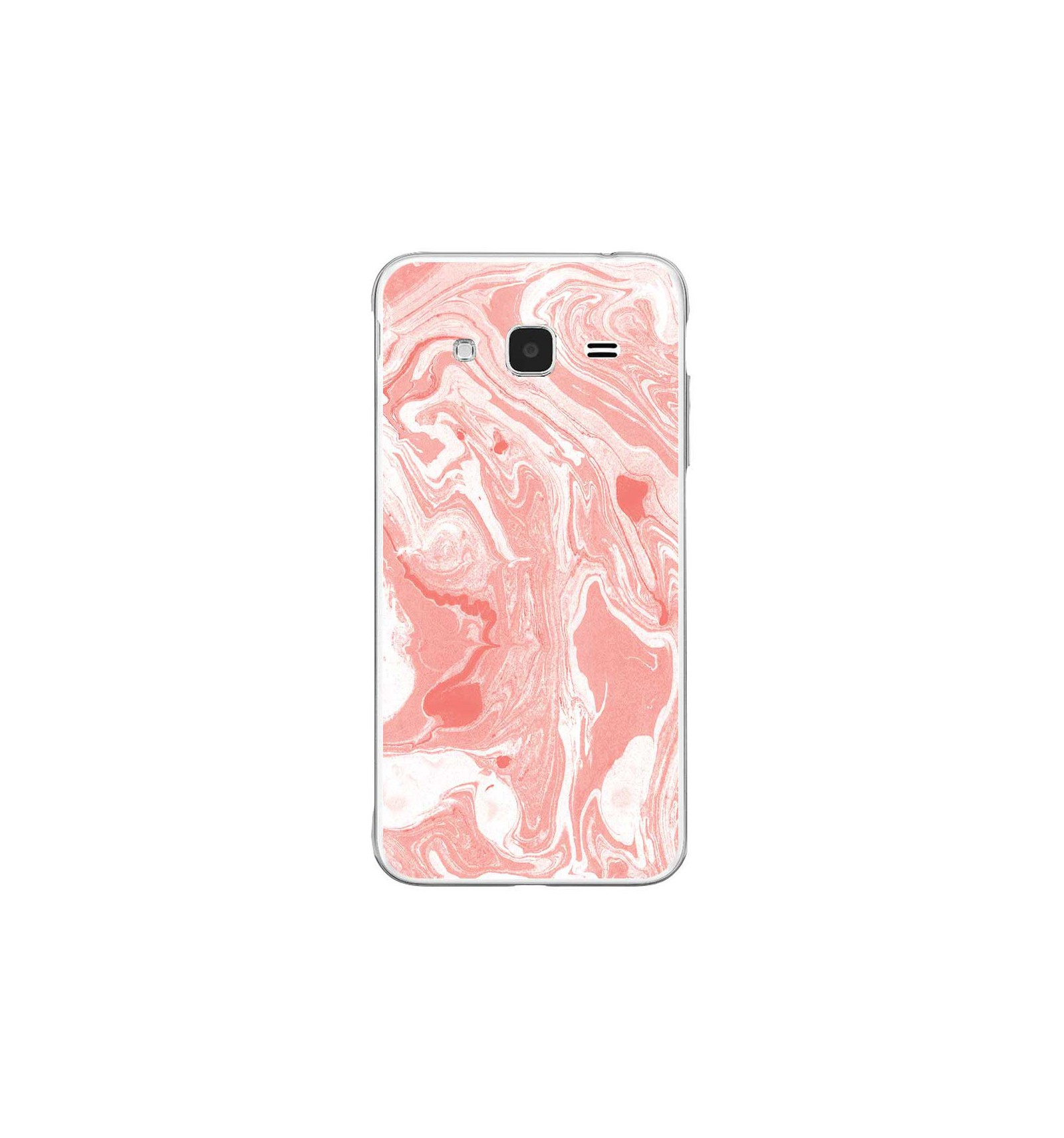 coque silicone rose samsung galaxy j3 2016