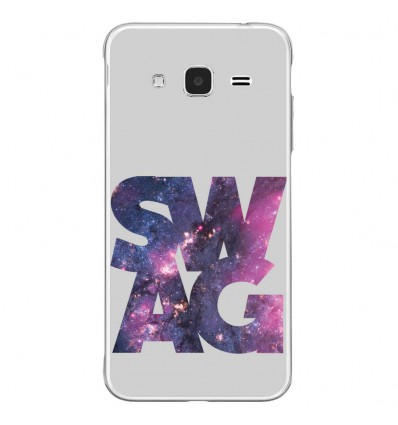 Coque en silicone Samsung Galaxy J3 2016 - Swag Space