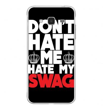 Coque en silicone Samsung Galaxy J3 2016 - Swag Hate