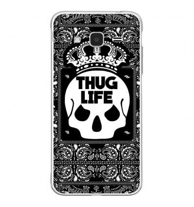 Coque en silicone Samsung Galaxy J3 2016 - Thuglife
