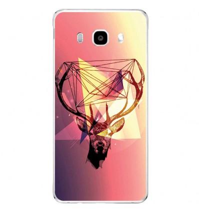 Coque en silicone Samsung Galaxy J5 2016 - Cerf Hipster