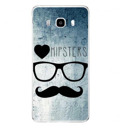 Coque en silicone Samsung Galaxy J5 2016 - I Love Hipster