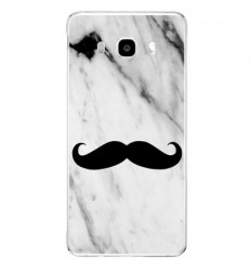 Coque en silicone Samsung Galaxy J5 2016 - Hipster Moustache