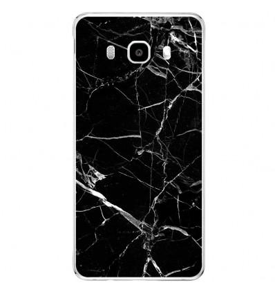 Coque en silicone Samsung Galaxy J5 2016 - Marbre Noir