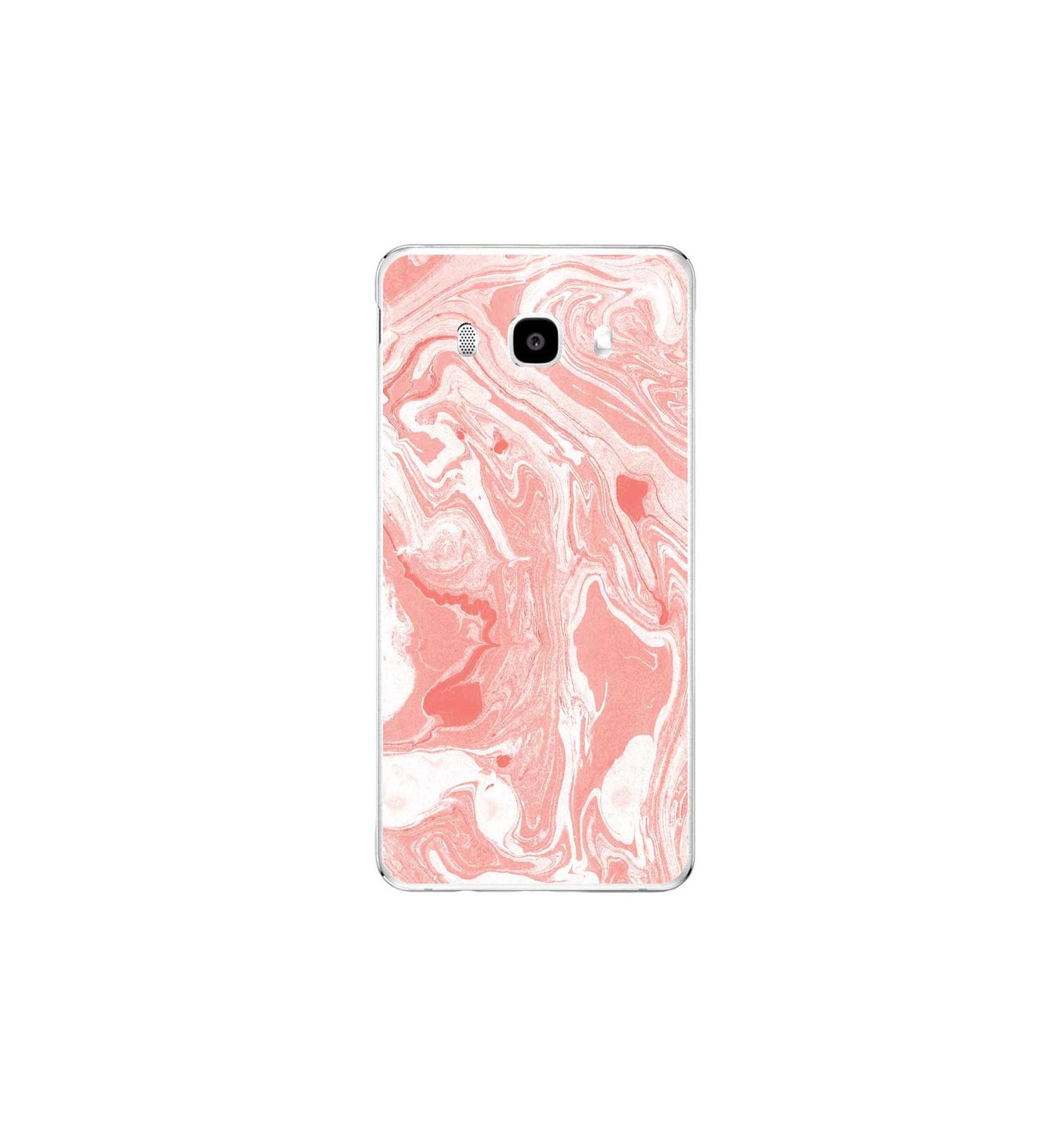 coque samsung j5 2016 marbre rose