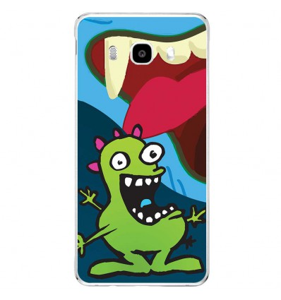 Coque en silicone Samsung Galaxy J5 2016 - Happy Monster