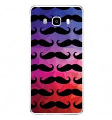 Coque en silicone Samsung Galaxy J5 2016 - Moustache
