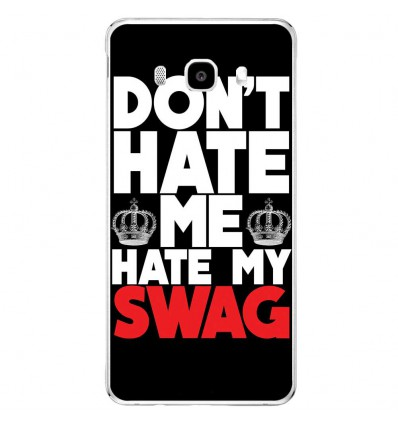 Coque en silicone Samsung Galaxy J5 2016 - Swag Hate