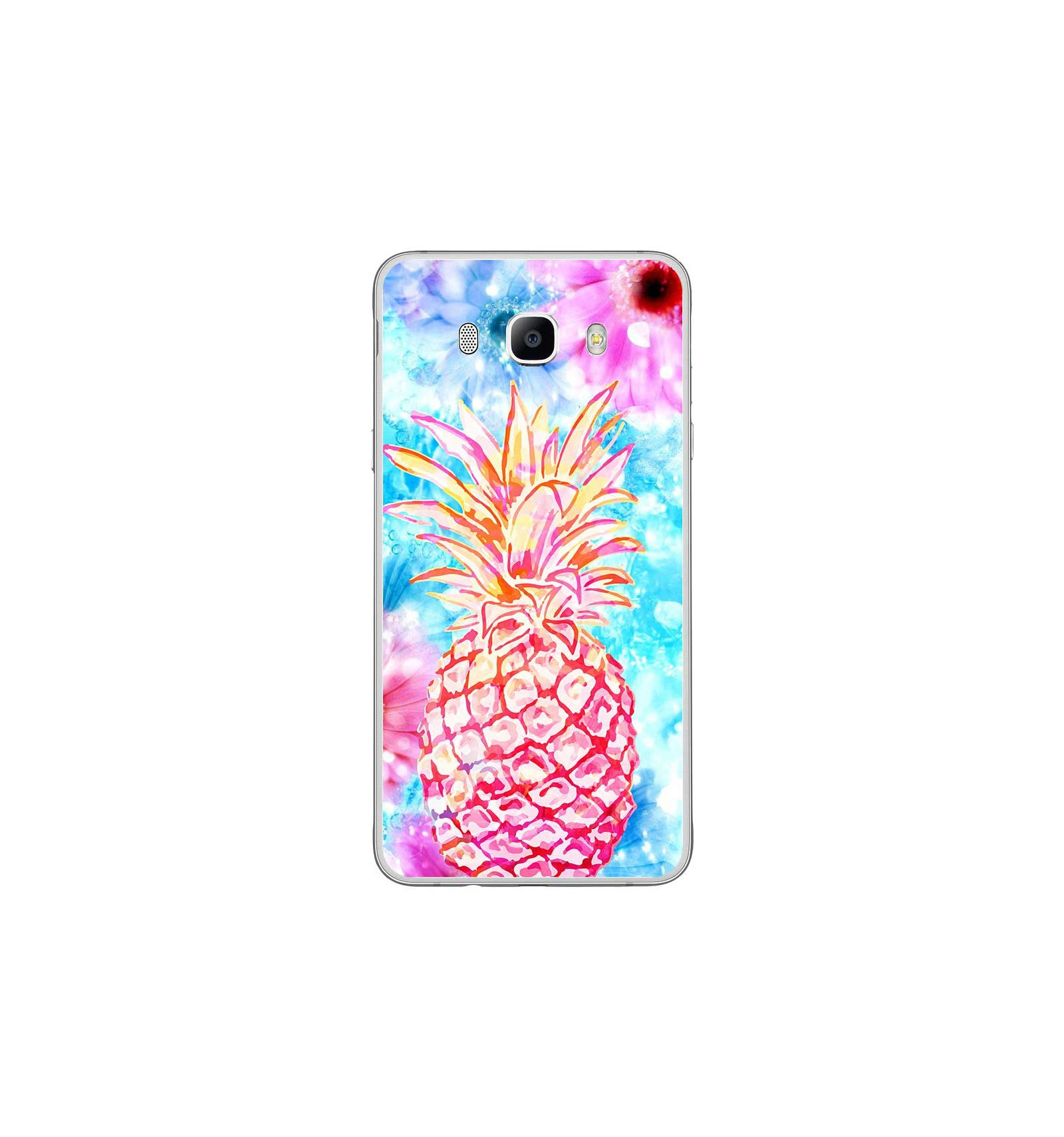coque samsung j7 2016 ananas