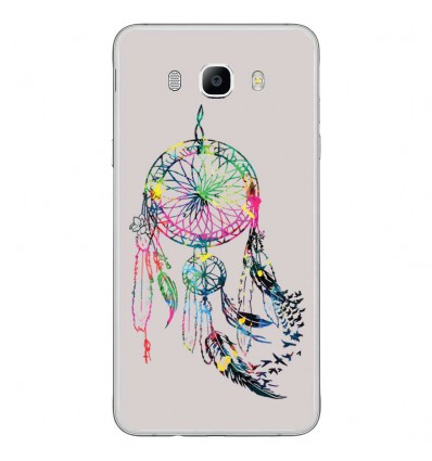 Coque en silicone Samsung Galaxy J7 2016 - Dreamcatcher Gris