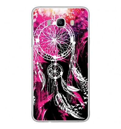 Coque en silicone Samsung Galaxy J7 2016 - Dreamcatcher Rose
