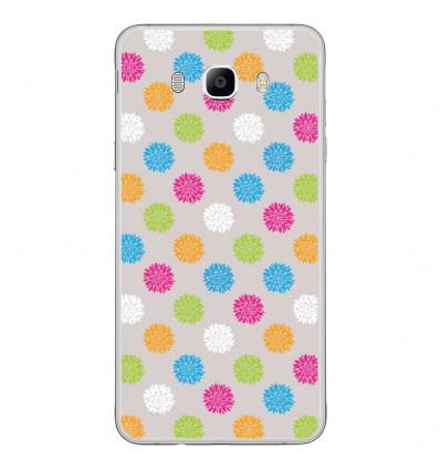 Coque en silicone Samsung Galaxy J7 2016 - Floral